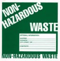 WZ-86463-10 Label, Non-hazardous Waste, 25/pk