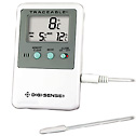 Refrigerator/freezer thermometer with 5ml vaccine vial probe (4527CP)