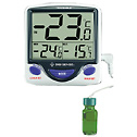 Jumbo Refrigerator/freezer thermometer with Wire Probe (4148CP)