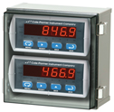 Representative photo only DIN Mount Meter Controller Enclosures With 2 1 8 DIN Cutout