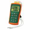 Representative photo only Extech EA15 EasyView Thermocouple Thermometer Dual Channel with Datalogger