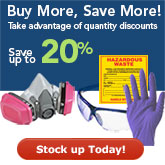Buy More Save More on many Safety products