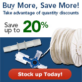Buy More Save More on many Tubing and Fittings products