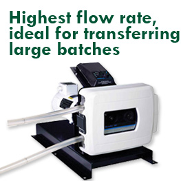 B/T Series Masterflex peristaltic pump, highest flow rate