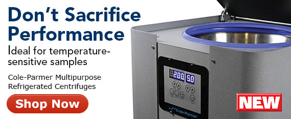 NEW Cole-Parmer Refrigerated Centrifuges