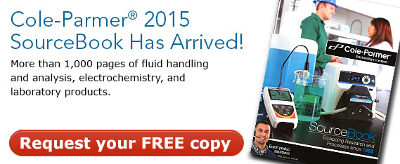 Get your free copy of the latest Sourcebook for lab and industrial equipment and supplies