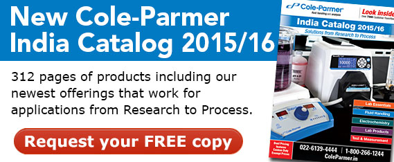 NEW Cole-Parmer India Catalog 2015/16