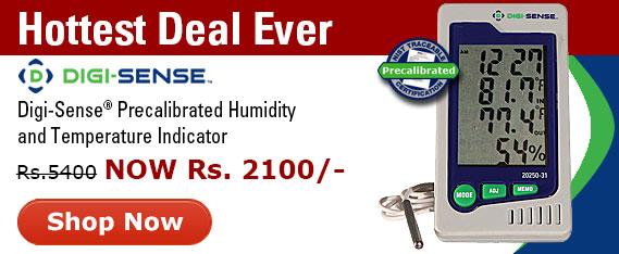 Hot Deal on Digi-Sense precalibrated temperature and humidity indicators