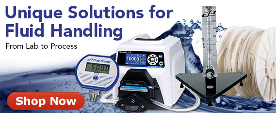 Fluid handling solutions for lab to process