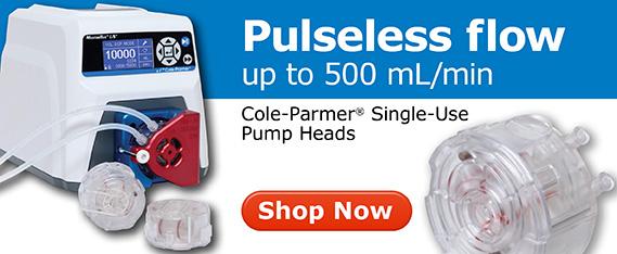 Masterflex Pulseless, single-use peristaltic pump head