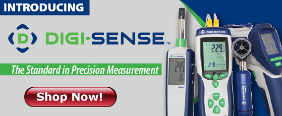 Precalibrated Digi-Sense, the standard in precision measurement