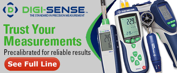 Digi-Sense - full line of test and measure instruments
