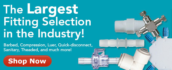 The largest fittings selection in the industry