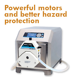 L/S Precision Modular Peristaltic Pump Systems with Bench Top Controller
