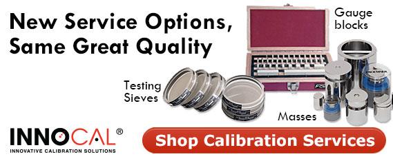 More Innocal Calibration Services