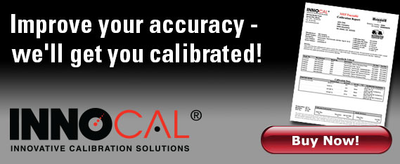 Keep your instruments calibrated