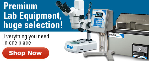 Lab equipment- baths, viscometers, microscopes, etc.