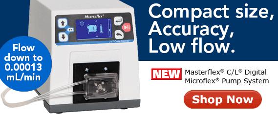 New Masterflex C/L pump system