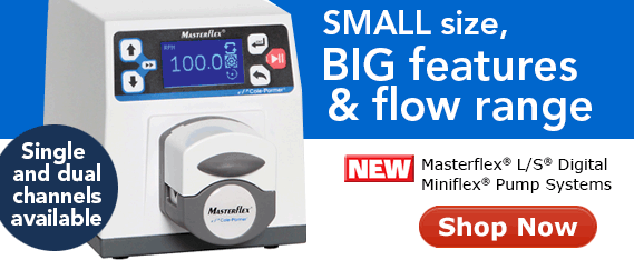NEW Masterflex L/S Miniflex pump- save space without losing functionality