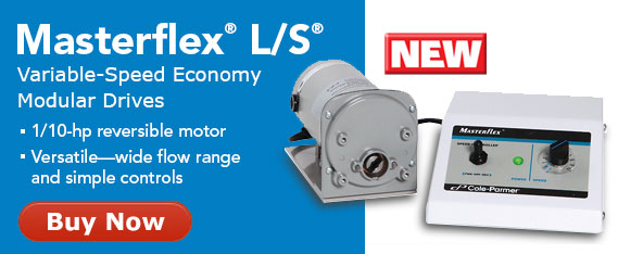 New Masterflex L/S Variable-Speed Economy Modular Drives
