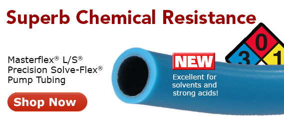 Solve-Flex Chemcially resistant tubing