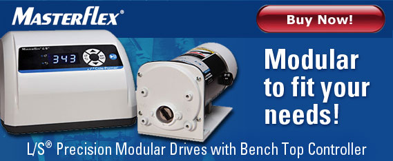 Modular Drives, benchtop controllers, Masterflex precision