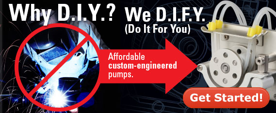 Masterflex OEM custom engineered pumps
