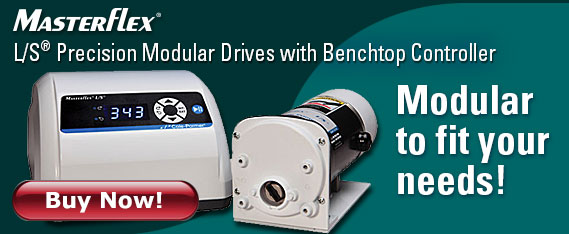 Masterflex peristaltic pumps - Modular to fit your needs