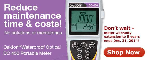 Oakton Optical DO 450 meter
