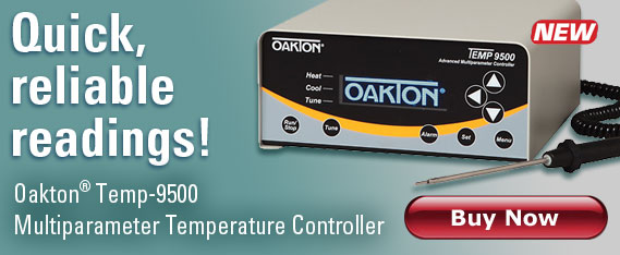 Oakton Temp-9500, quick reliable readings