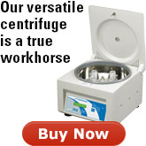 best selling versatile centrifuge will be the workhorse of your lab