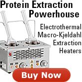 Electrothermal MQ Series Macro-Kjeldahl Extraction Heaters