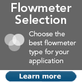 Choose the best flowmeter for your application