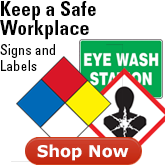 Signs and labels- OSHA compliance