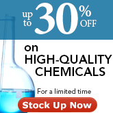 Limited-time only! High-quality lab chemicals at a lower price.