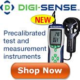 Digi-Sense precalibrated Anemometers