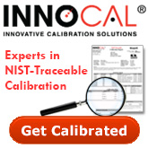 InnoCal Experts in NIST traceable calibration