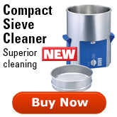 Compact Ultrasonic Test Sieve Cleaners