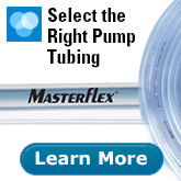 Select the right pump tubing