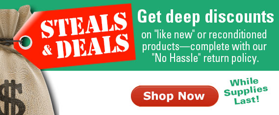 Steals and deals deep discounts