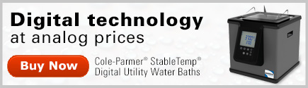 Cole-Parmer Stabletemp baths and circulators