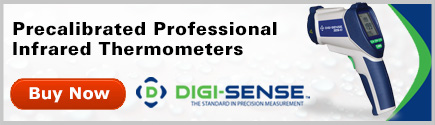 Digi-Sense Precalibrated Professional IR Thermometers