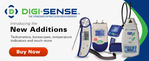 Introducing….The Newest Additions to the Digi-Sense Family. Tachometers, Borescopes, Temperature indicators, and much more