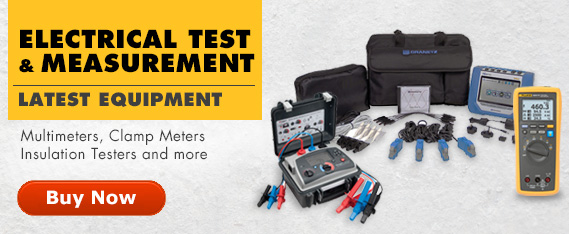 Latest in Electrical Test & Measurement for multimeters, clamp meters, insulation testers and more