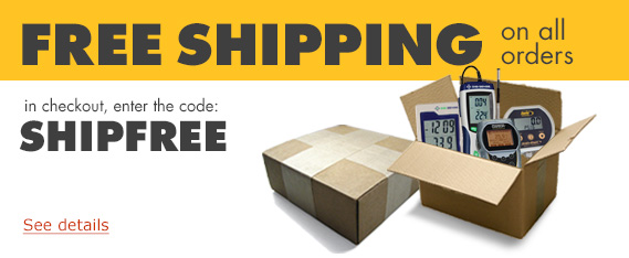Free shipping on all Davis orders.