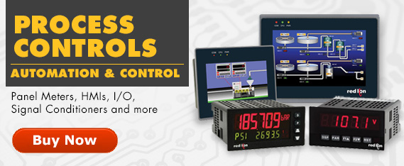 Automation and Control Equipment. Panel meters, HMIs, I/O, Signal Conditioners and much more