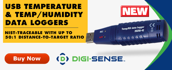 Digi-Sense USB Temperature & Temperature/Humidity Data Loggers