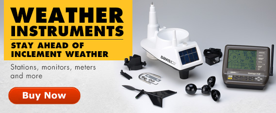 Weather Stations, monitors and meters