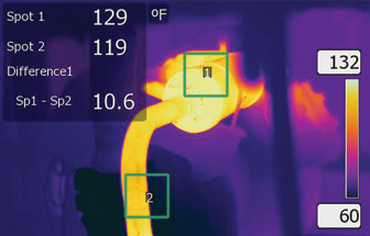 Thermal Imager Temperature Range