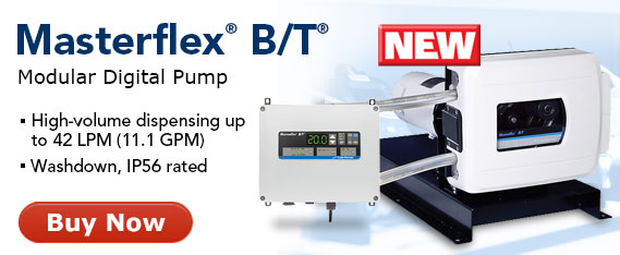 New Masterflex B/T Digital Pumps